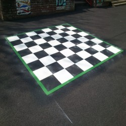 Relining Play Surface Markings in Holywood 1