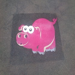 Playground Floor Markings in North Ayrshire 3