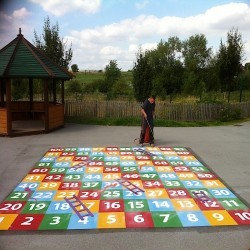 KS1 Playground Marking Designs in North Lanarkshire 3