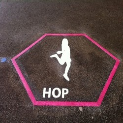 Playground Floor Markings in Greater Manchester 3