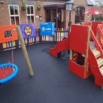 Playground Trim Trail Designs in Almington 9