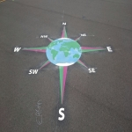 Playground Floor Markings in North Ayrshire 9