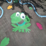Tarmac Play Area Painting in Aberbeeg 3