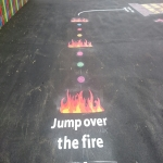 Tarmac Play Area Painting in Cornwall 4