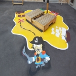 Tarmac Play Area Painting in Abington Pigotts 12
