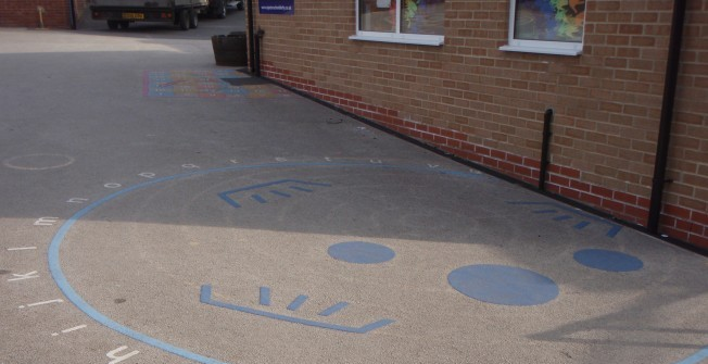 Playground Marking Removal in Ablington