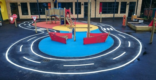 Playground Design in Admaston