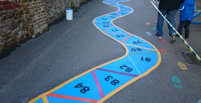 Play Area Graphics in Achmelvich