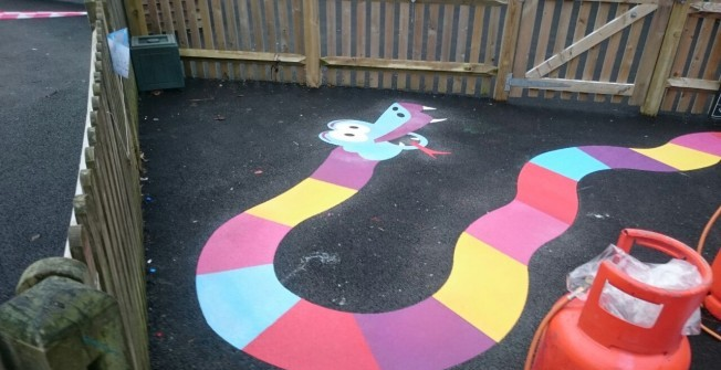 Recreational Surface Designs in Abercynon