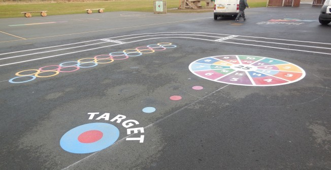 Playground Surface Designs in Harlow Hill