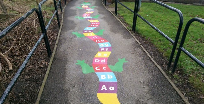 Thermoplastic Markings in Pentre-cefn