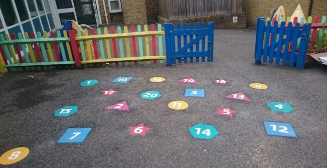 Kids' Playground Graphics in Acton