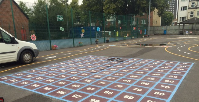 Playground Numbers Table in Causeway End