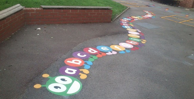 Educational Floor Graphics in Annaghmore