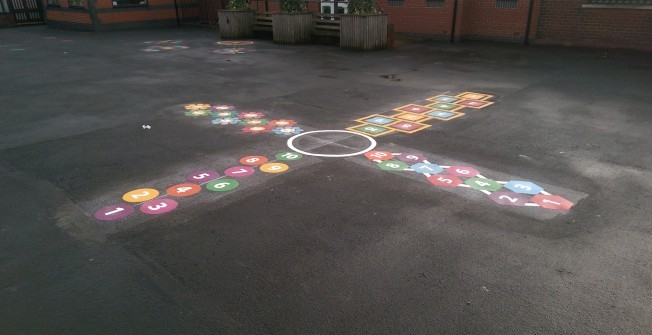Recreational Graphics Markings in Alderton